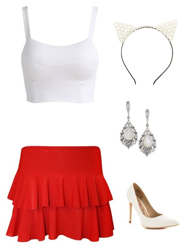 """""""Untitled #423"""" by netteskytte on Polyvore featuring Charlotte Russe, WearAll and Penny Loves Kenny"""