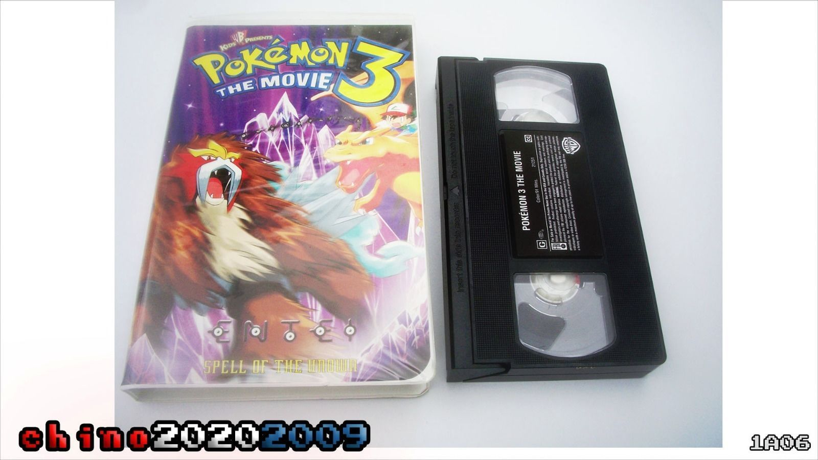 Pokemon 3 The Movie Spell Of The Unown Vhs Fall Under The Spell