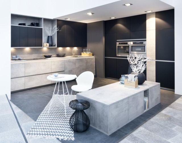 Fot Kuchnia z linii Stone (kolor beton)\/Feel (kolorblack - nolte küchen bilder