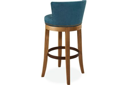 Swivel Bar Stool No Le 5983 52sw Back View With Images Leather Swivel Bar Stools Swivel Bar Stools Bar Stools