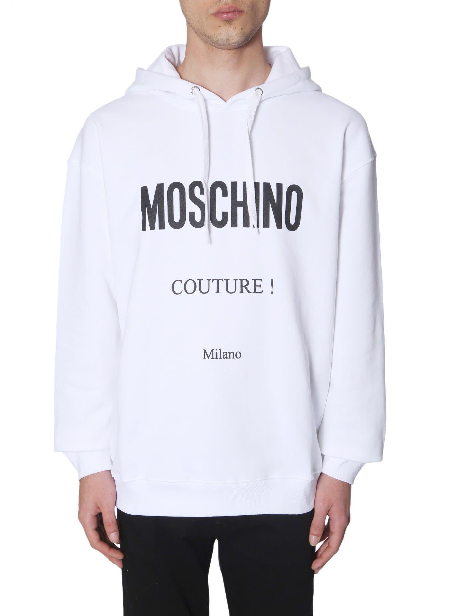 MOSCHINO CREW NECK SWEATSHIRT. moschino cloth Crew