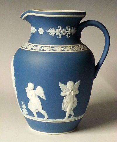 Dudson jasperware jug, c.1870 | vazo | Pinterest | Wedgwood