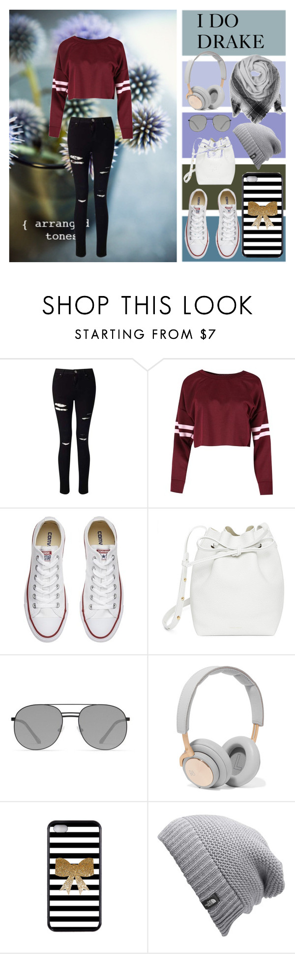 """Favourite Girl ~Justin Bieber"" by very-berry-fashionista ❤ liked on Polyvore featuring Miss Selfridge, Converse, Mansur Gavriel, Elizabeth and James, B&O Play and The North Face"