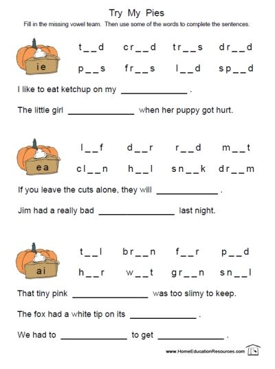 Worksheets Free Phonics Worksheets First Grade free and easy to download from fransfreebies com long vowel printable phonics reading worksheets combinations ea ie ai pies fun stuff for kids