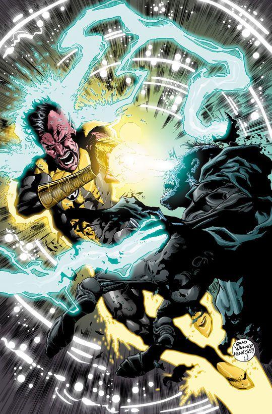 Sinestro Vs Pale Bishop By Brad Walker Yellow Lanterns Comics