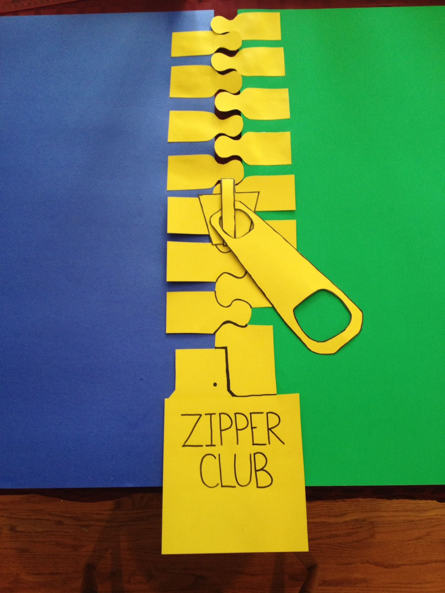 Zipper Worksheet