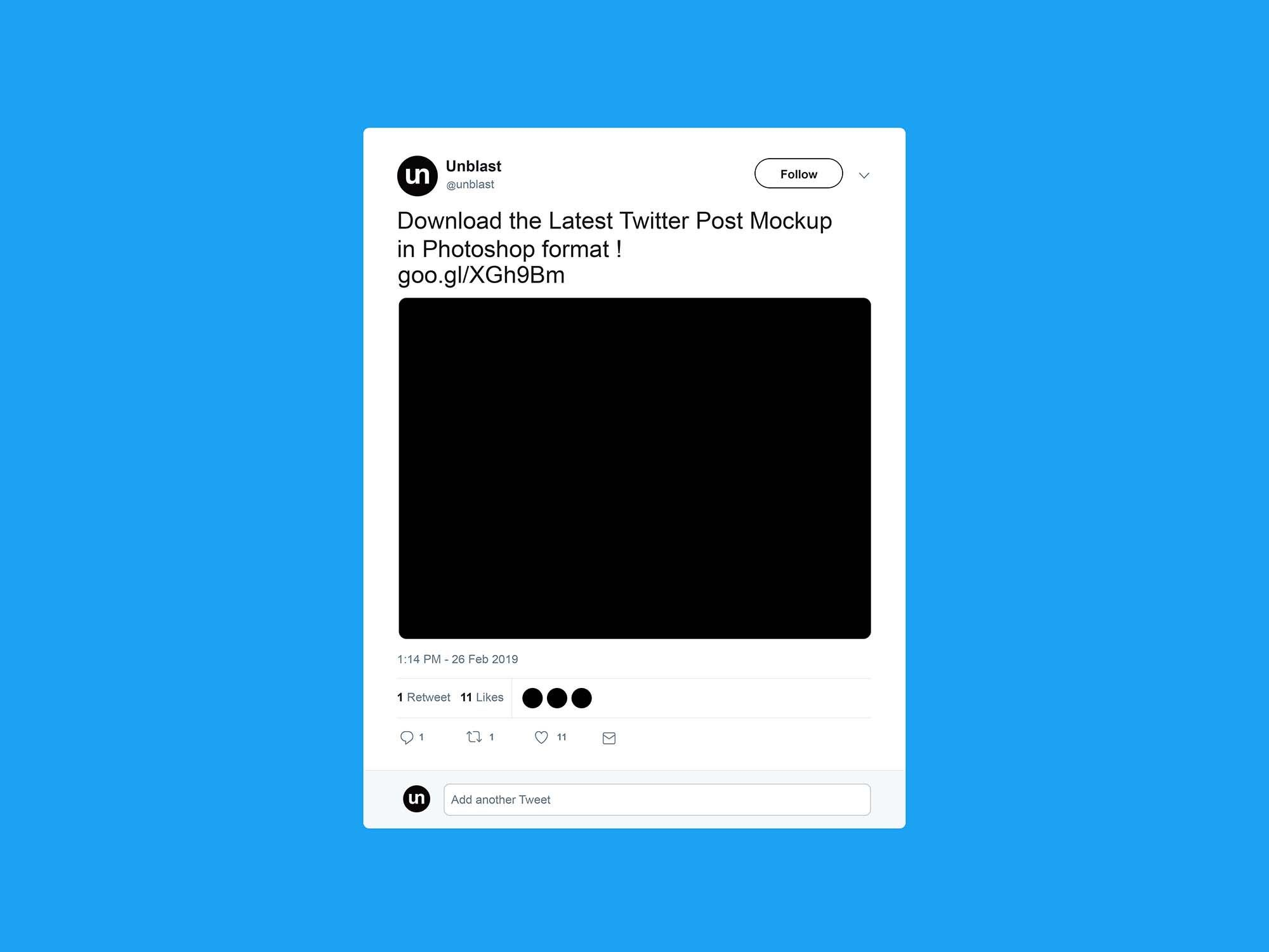 Free Twitter Post Mockup 2019 For Blank Twitter Profile Template Best Sample Template Twitter Template Mockup Business Template Twitter template for students printable