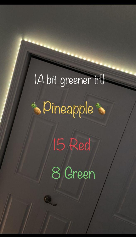 Pineapple In 2020 Led Lighting Bedroom Diy Led Lighting Ideas Led Lighting Diy