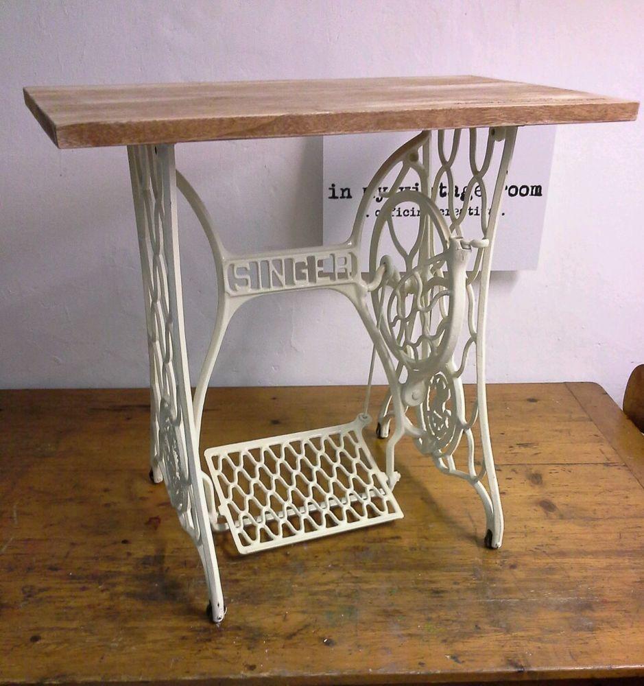Tavolo scrittoio scrivania vintage singer inmyvintageroom home decor nel 2019 home decor - Tavoli per macchine da cucire ...