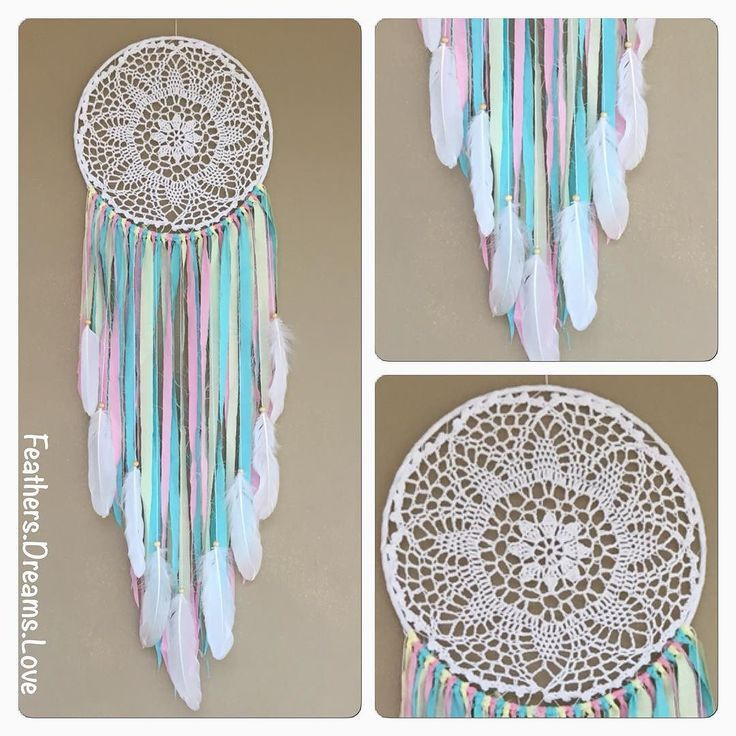 1000+ Ideas About Crochet Dreamcatcher On Pinterest
