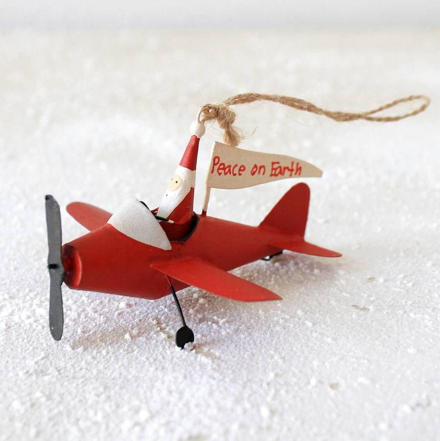 santa airplane airplanes pinterest airplanes santa and ornament