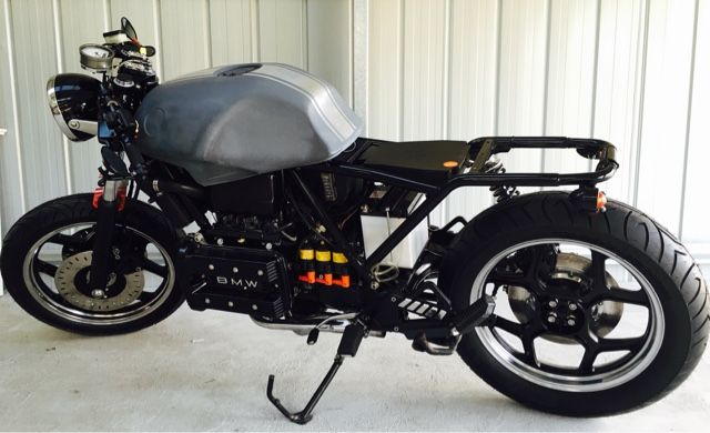 bmw k75 cafe racer project special k | mixed | pinterest | bmw