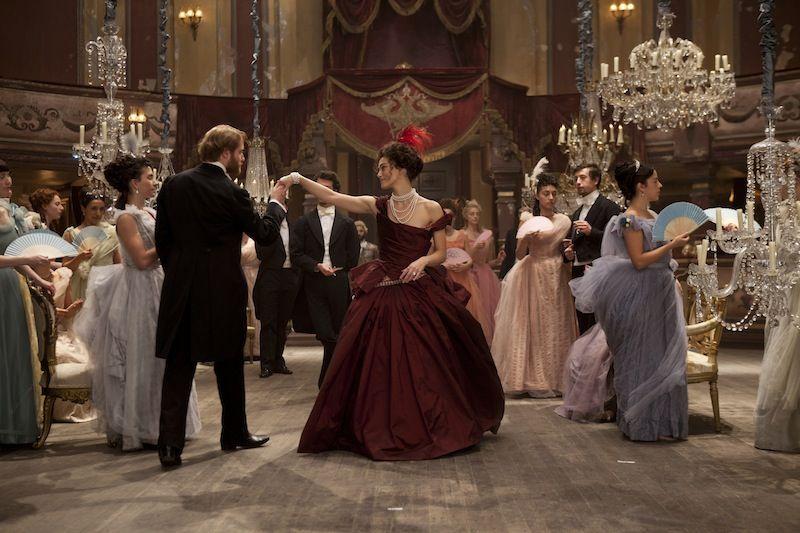 Ball gown scene-Anna  Karenina