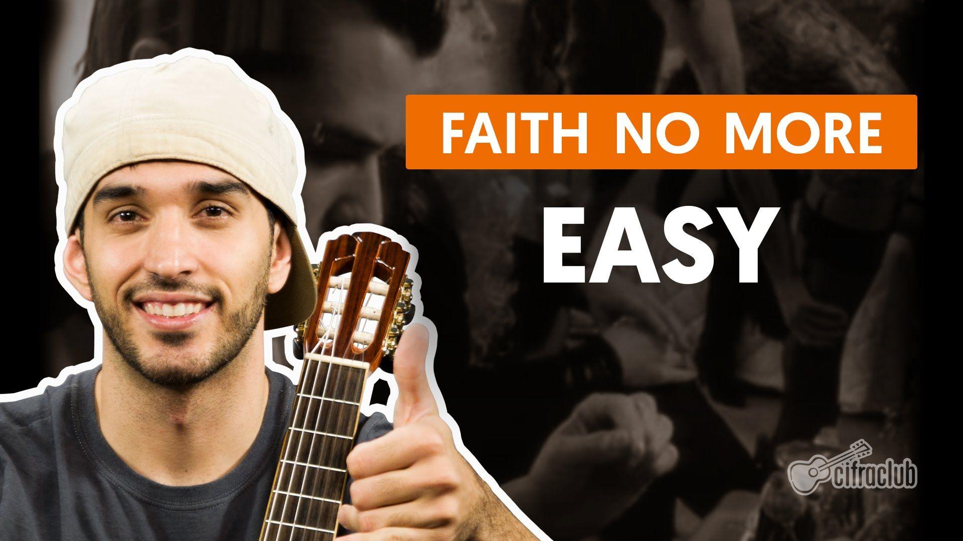 Easy - Faith No More (aula de violão completa)