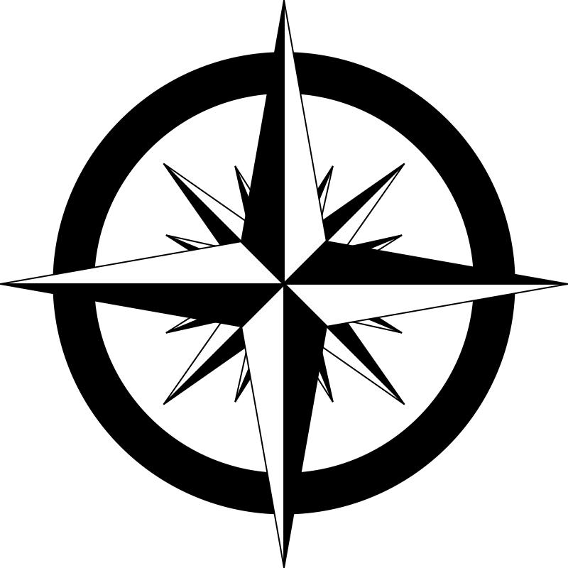 Compass Rose Vector Logo Design Element Emblem Label Sticker Badge Shield Eps Dxf Svg Png T Shirt Cnc Clipart Graphic 0394 In 2021 Nautical Compass Drawing Compass Tattoo Design Compass Drawing