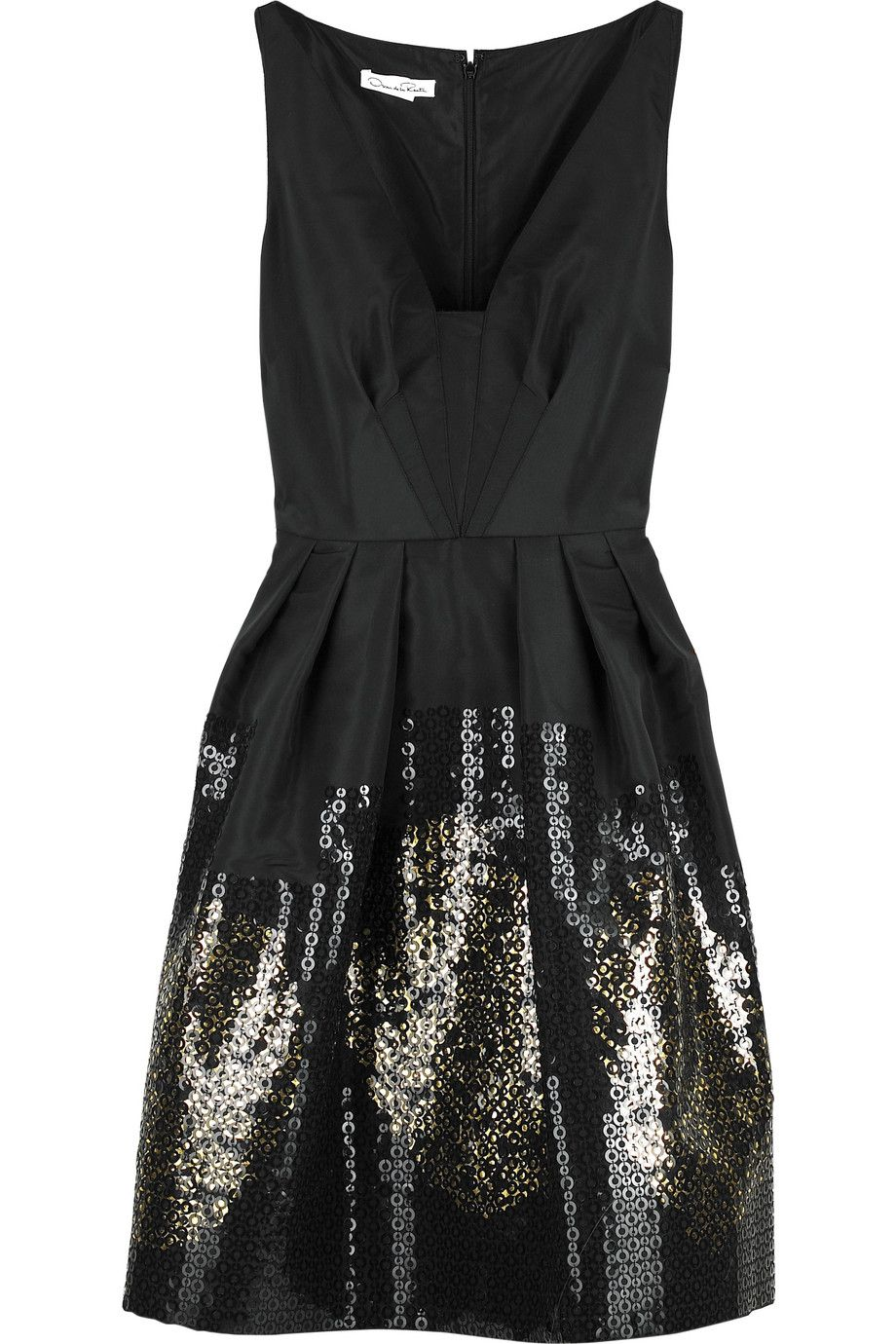 simple, yet the appliqued sequins do so much.