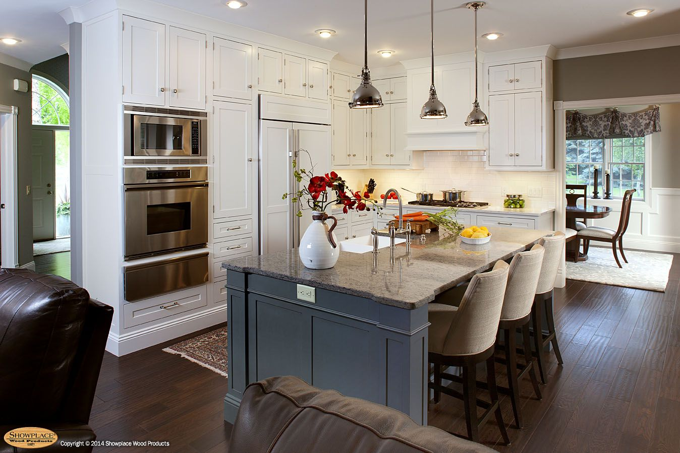 Delightful Kitchen Cabinets In White Paint Finish And Other Paint Finishes