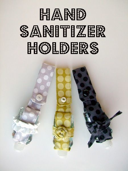 Hand Sanitizer Holder Tutorial Hand Sanitizer Holder Hand
