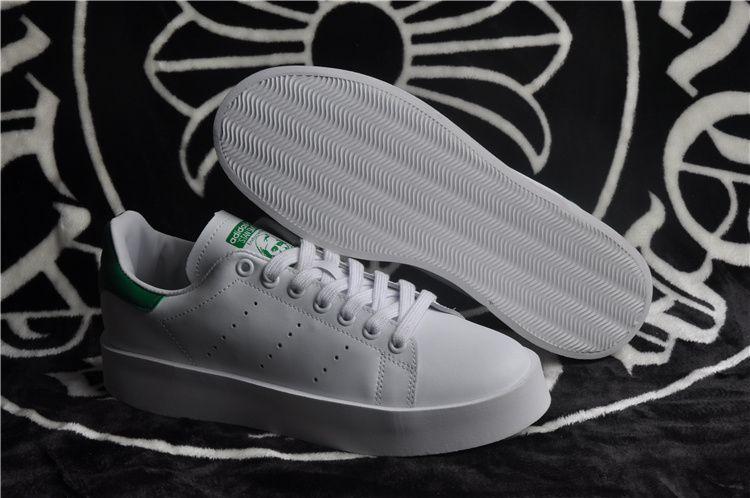 d7722e372fd Unisex President Adidas Originals Stan Smith Junior White Green Finish Line