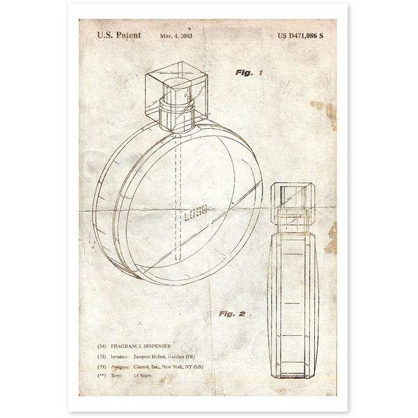 Oliver Gal \u0027Fragrance Dispenser\u0027 2002 Parchment Art Print ($15