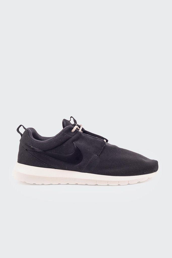 nike roshe run nm - sneaker - black\/black anthracite mortar mix