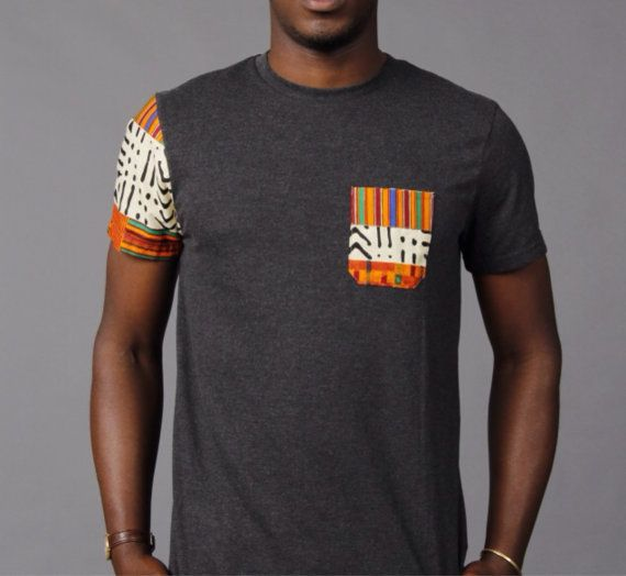 SoTribal Ankara t-shirt tee Kente