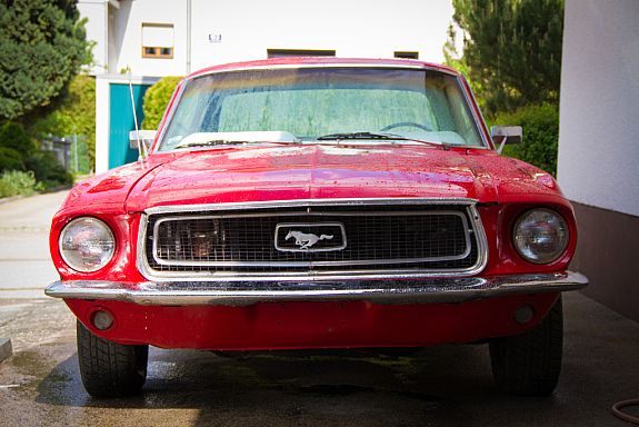 Ford Mustang 68 Oldtimer 68 Mustang Fastback Boss 302 My 1st