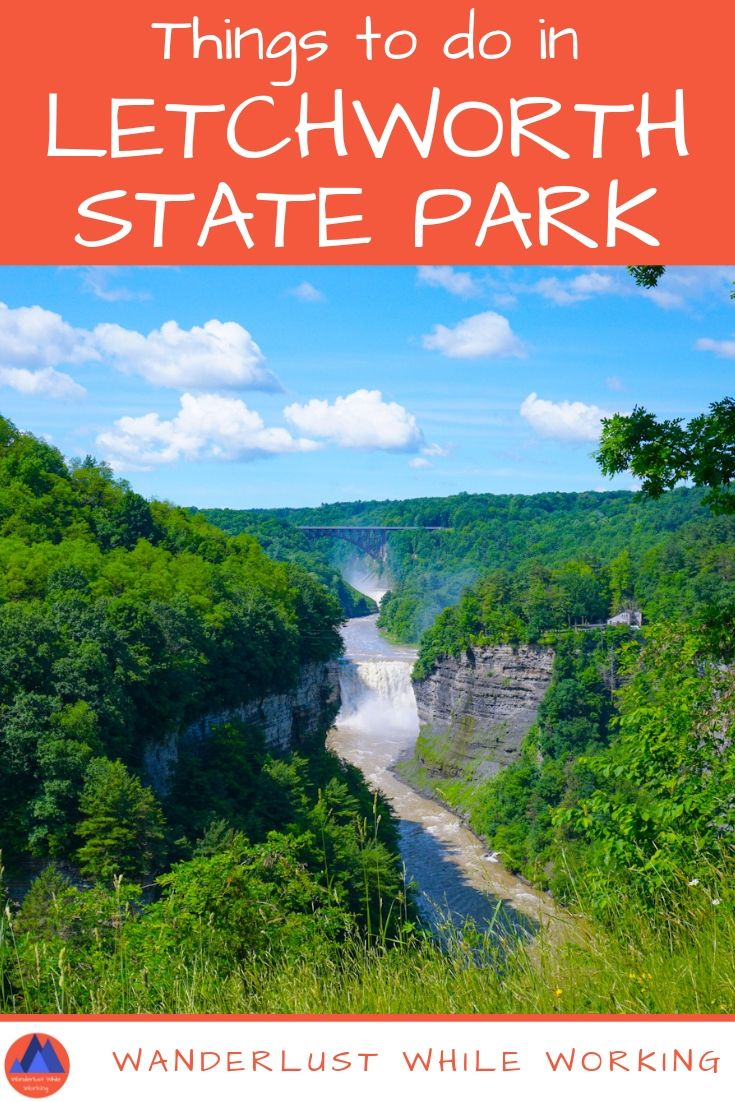 Top Things To Do in Letchworth State Park - Wanderlust While Working #letchworthstatepark