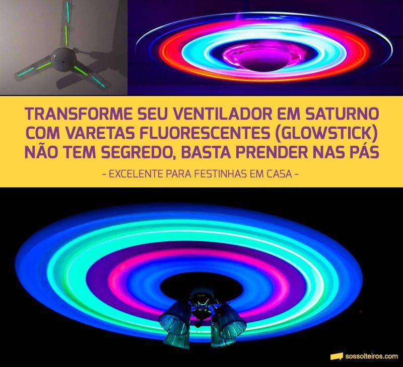 Transforme seu ventilador em Saturno