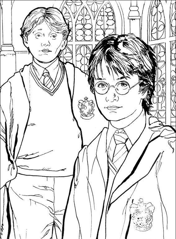 Harry Potter 39 Pokoloruj Ulubione Postacie Z Bajek Na