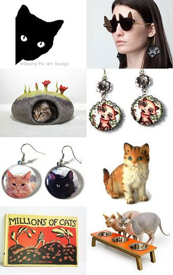 Here Kitty Kitty by Dawn Miller on Etsy--Pinned with TreasuryPin.com