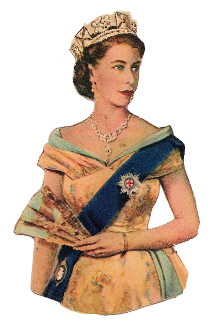 Quueen1 Png 764 1122 Pictures Of Queen Elizabeth Vintage Vintage Ephemera