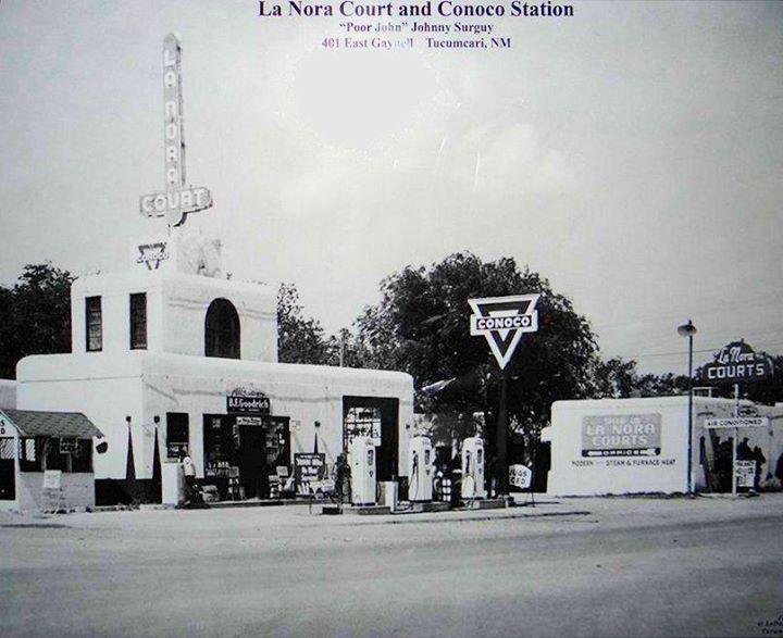 La Nora Court, Tucumcari, New Mexico, USA