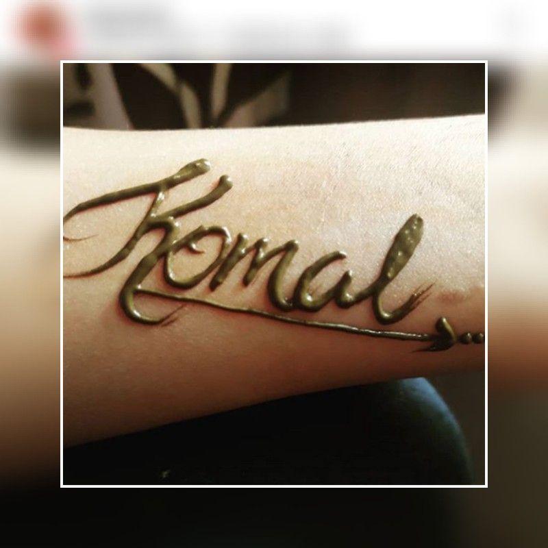 Komal Name In 2020 Mehndi Designs Arabic Calligraphy Calligraphy