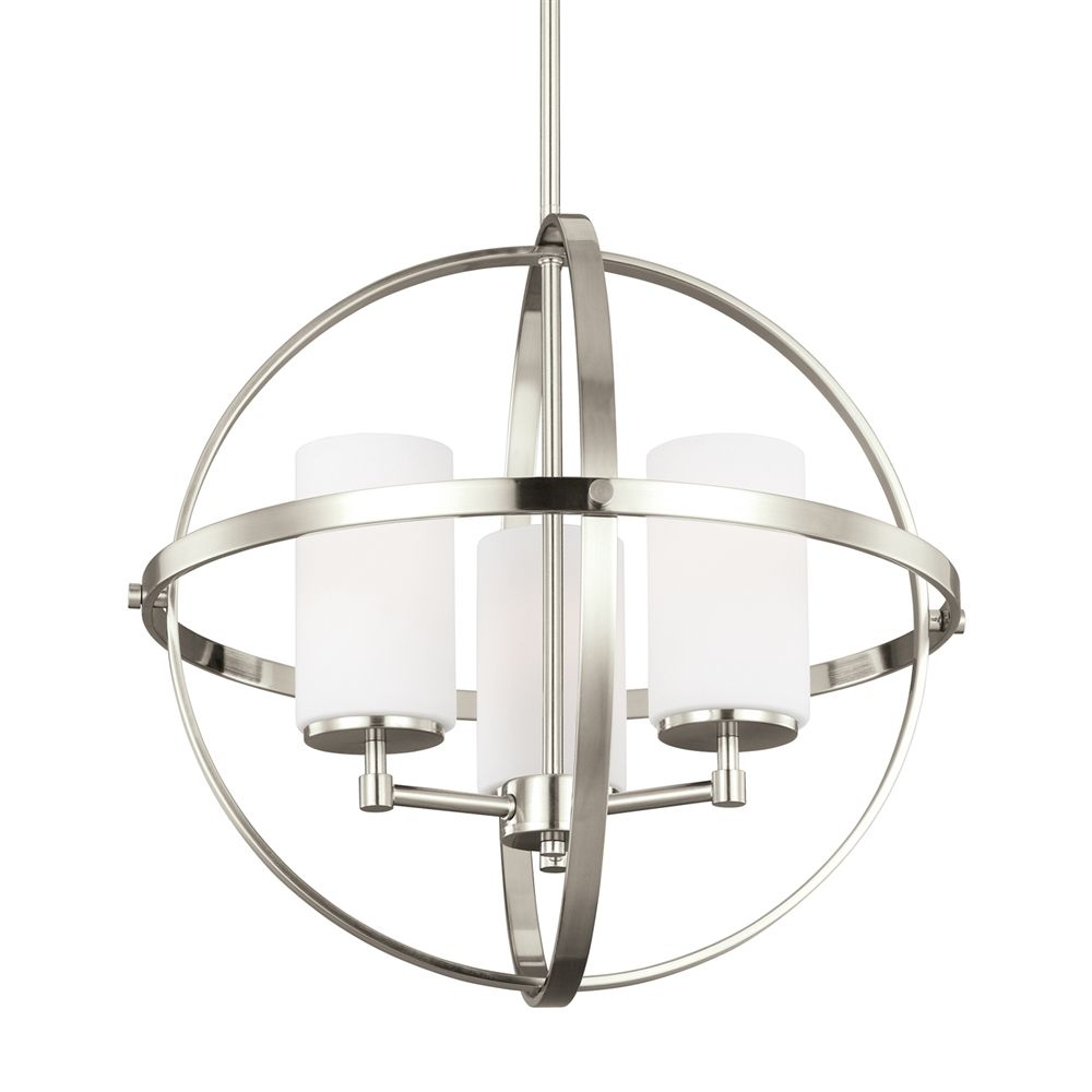 Shop sea gull lighting 3124603en alturas 3 light led chandelier at shop sea gull lighting 3124603en alturas 3 light led chandelier at lowes canada find aloadofball Image collections