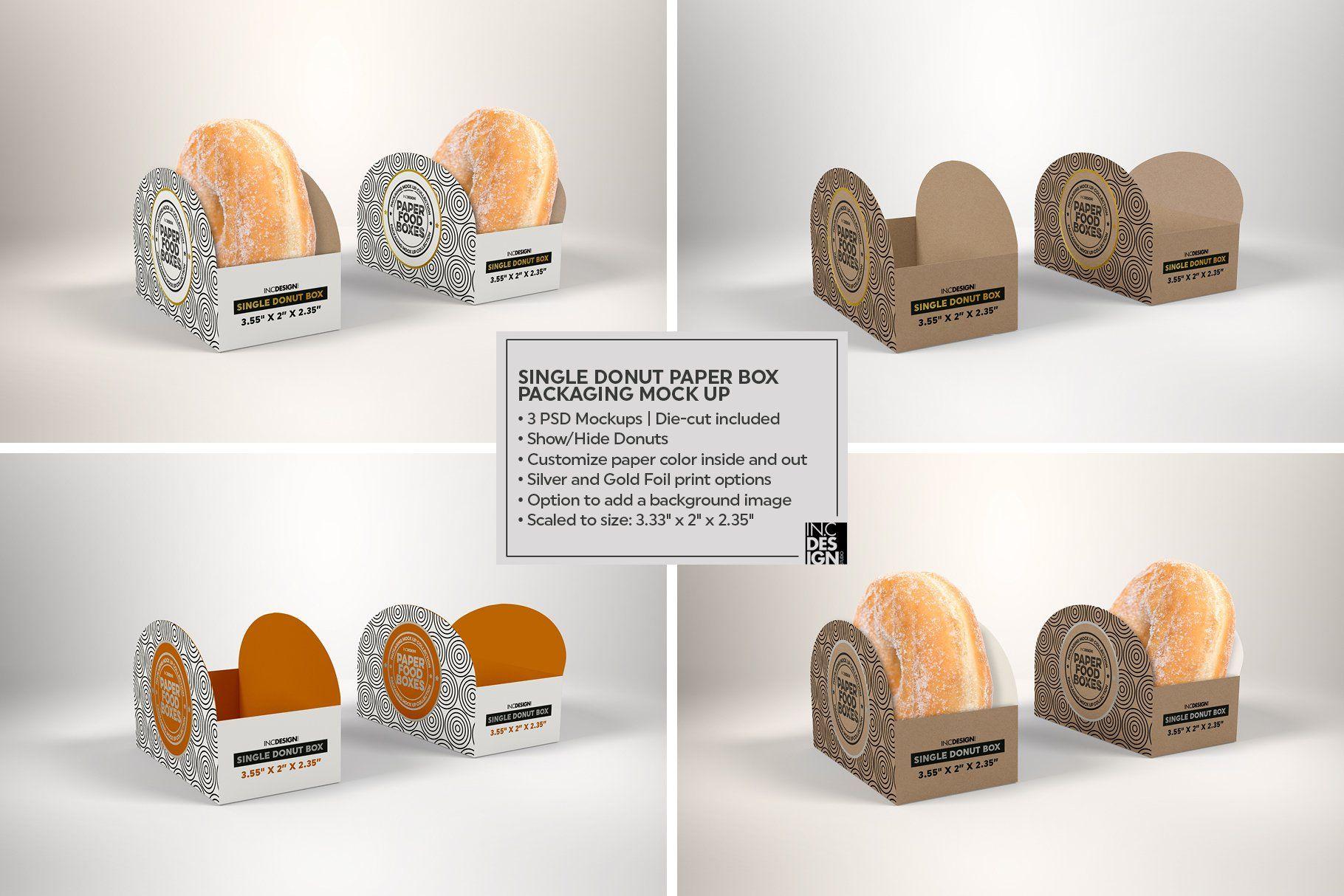 Download Vol 11 Food Box Packaging Mockups Ide Kemasan Kemasan Pembungkus Hadiah