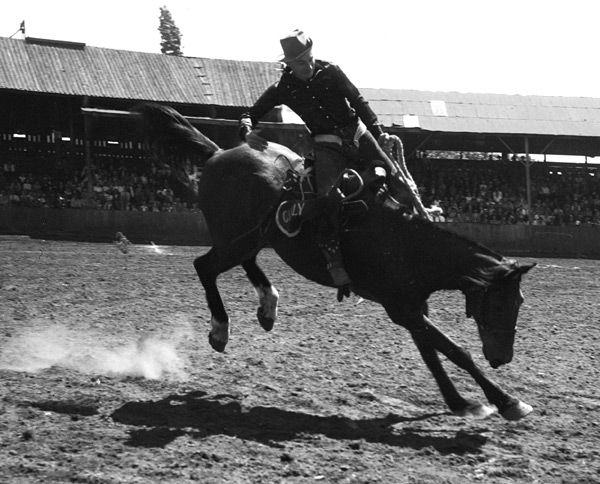 Bart Clennon On Jake Molalla Oregon July 2 1944