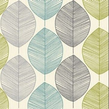 Teal Silver And Green For Bedroom Feature Wallpaper By Arthouse Opera Retro Leaf 408207
