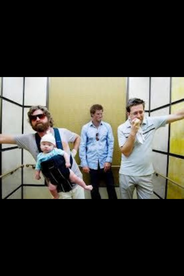 The Hangover. How I feel in an elevator now.