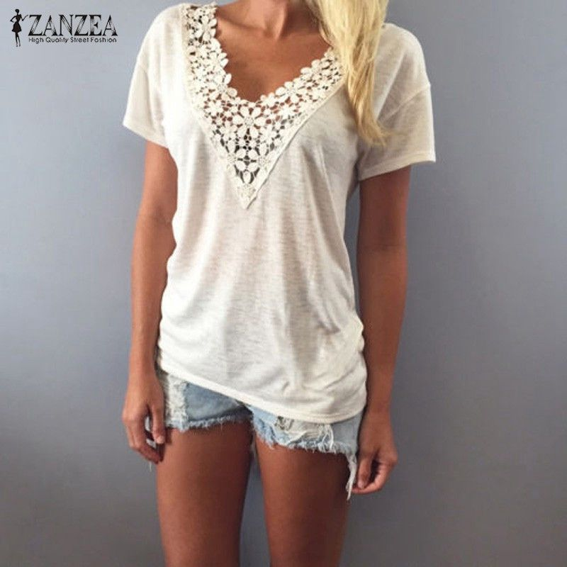 Plus Size Womens Lace Sleeveless Summer Vest Blouse Long Tops T Shirt Mini Dress