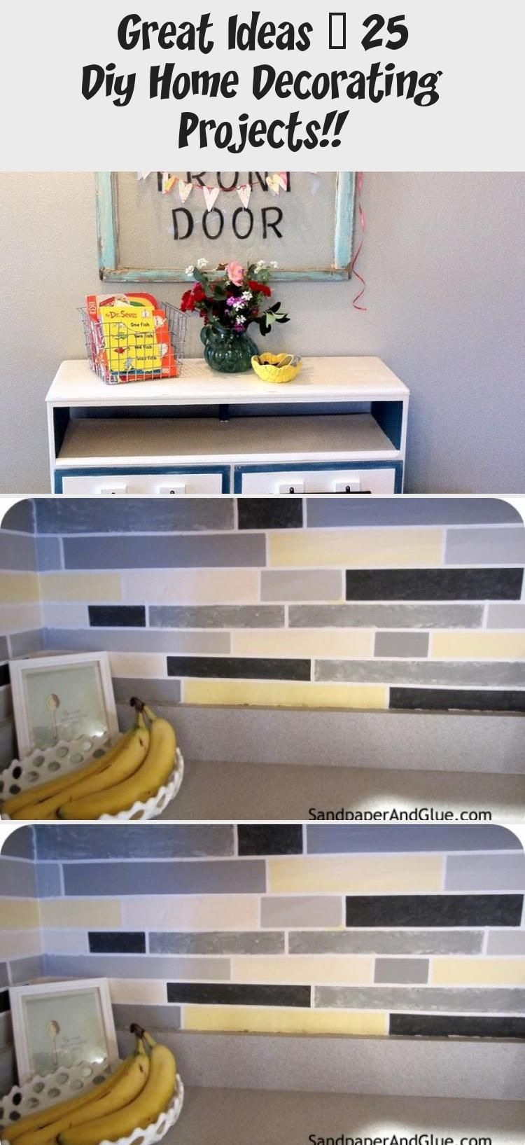All Things Home 25 Diy Decor Projects Homedecorideas Homedecor Homeideas Allhomeideas Allthingshome Home Diy Hom In 2020 Diy Decor Projects Decor Home Decor