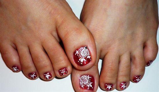 Easter toe nail art - Easter Toe Nail Art Toe Nails Design & Pedicure Pinterest