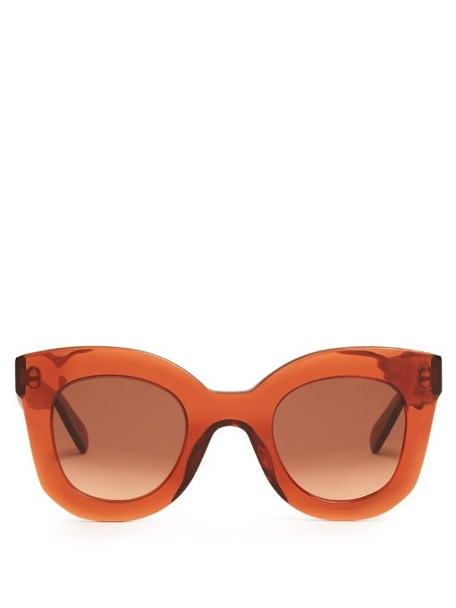 3ca9c4a844c49 Céline Sunglasses Baby Marta acetate sunglasses