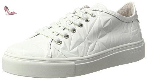 Nl34, Sneakers Basses Femme, Blanc, 38 EUBlackstone