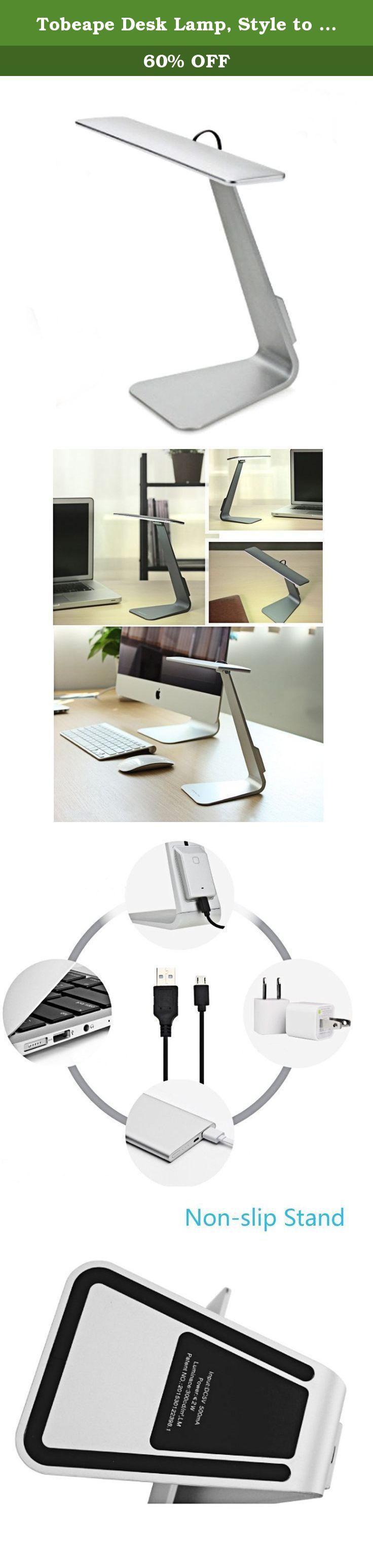 tobeape desk lamp style to match macbook ultra thin table lamp