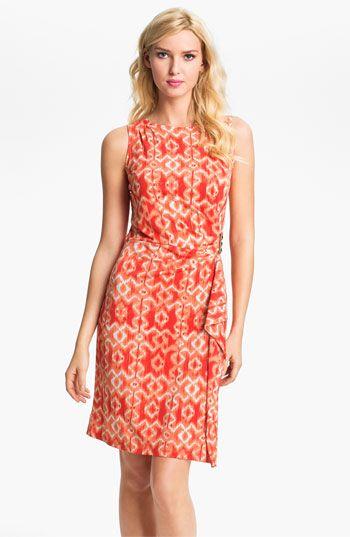 MICHAEL Michael Kors Ikat Print Dress | Nordstrom