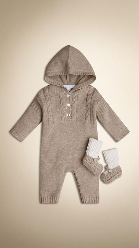 Burberry Baby Gift Sets : Cashmere two piece gift set burberry k i d s