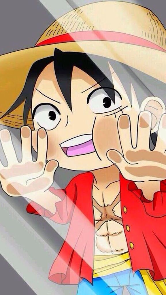 #OnePiece | mirror | Anime behind glass, One piece full e ...