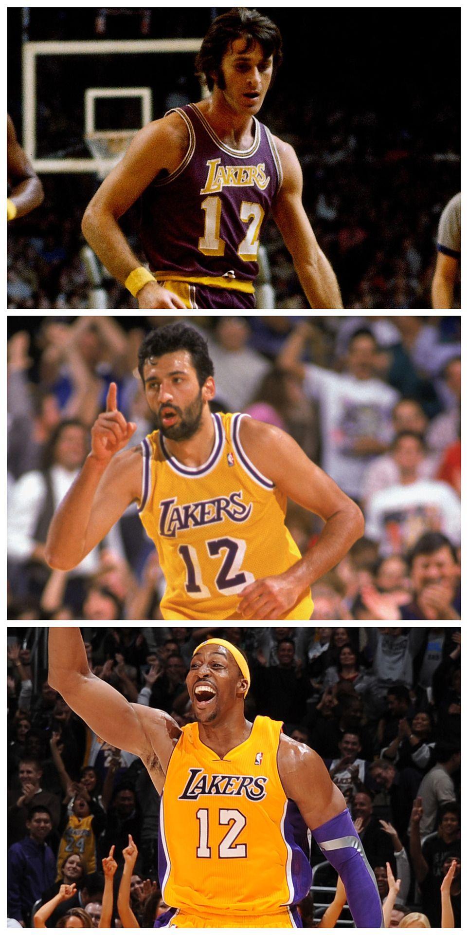 Los Angeles Lakers 12 Pat Riley Vlade Divac Dwight Howard Los Angeles Lakers Lakers La Lakers