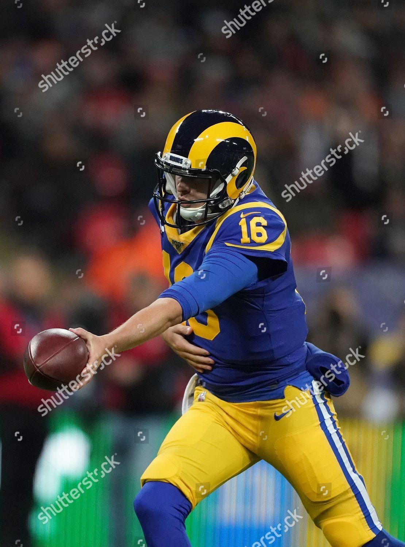 La Rams Quarterback Jared Goff 16 Hands Editorial Stock La Rams Jared Goff Nfl Today